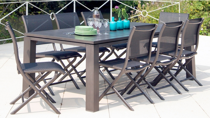 Best table jardin alu oceo images awesome interior home